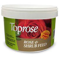 Toprose Rose and Shrub Feed 3kg Tub