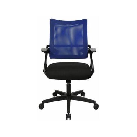 Schreibtischstuhl NEW S'MOVE | Mit Armlehnen | Blau | Topstar Bürodrehstühle