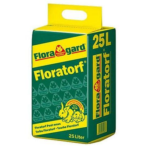 Torba (bionda) acida di sfagno (Floratorf - Floragard) (c.ca 5,3 kg - 25 lt)