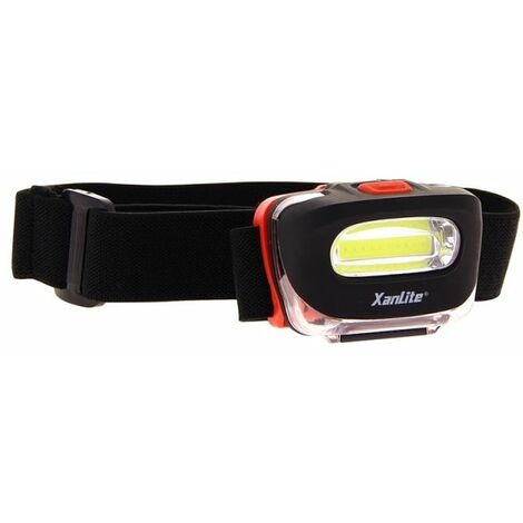 Torche frontale LED - 100 lumens - 3 piles incluses | Xanlite