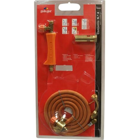 Torche � gaz butane/propane Chalumeau � gaz butane/propane Tuyau d'�chappement libre Tuyau d'�chappement libre Tube non blind� 6X12-1,5Mt N4 Galagar 14600602
