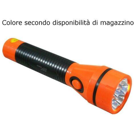 Torcia LED 800 mAh luce ricaricabile 42 lumens spina estraibile trekking camping