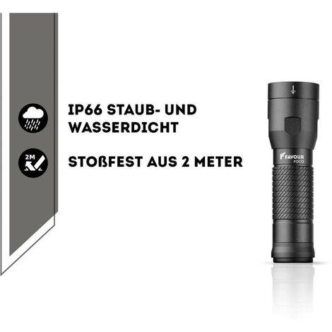 Favour Foco T2042 LED (monocolore) Torcia tascabile a batteria 450 lm 45 h 180 g - 270FAHANDT2042