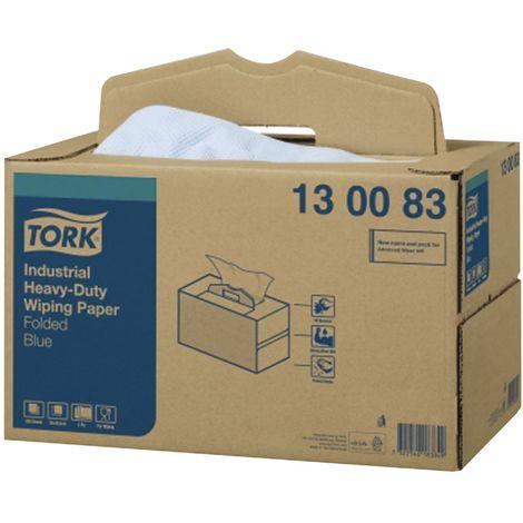 TORK Extra Starke Industrie Papierwischtücher 3-lagig gefaltet in Handy Box