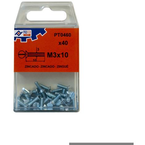 Tornillo C/p Din963 Zn C/9 Pz - NEOFERR - 48494-PT0465 - 5X30 MM