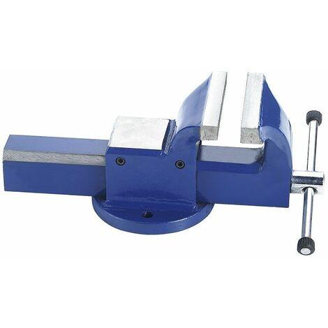 Tornillo de banco de acero 100mm FERVI 0036/100