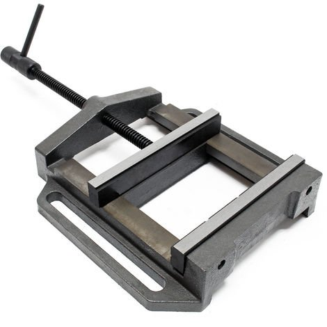 Tornillo de banco industrial 200 mm Herramienta taller Banco trabajo Sujeción piezas Pulir Taladrar