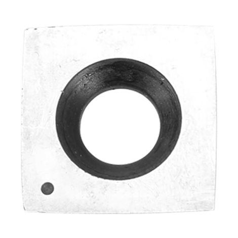 Tornillo de fresa para madera, para inserto de metal duro,B, arco cuadrado
