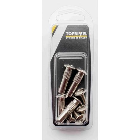 Tornillo ensamblar 8x40mm acero niq nivel 4 pz