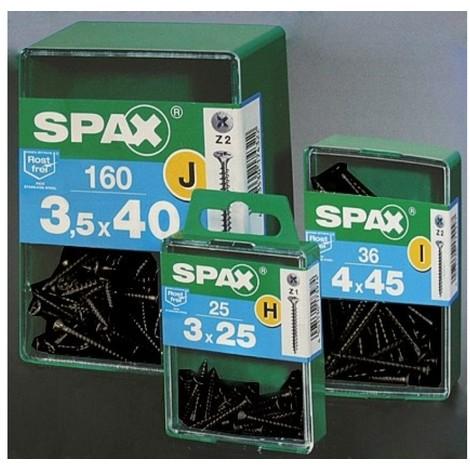 Tornillo r/mad. 03x020mm ne spax 20 pz