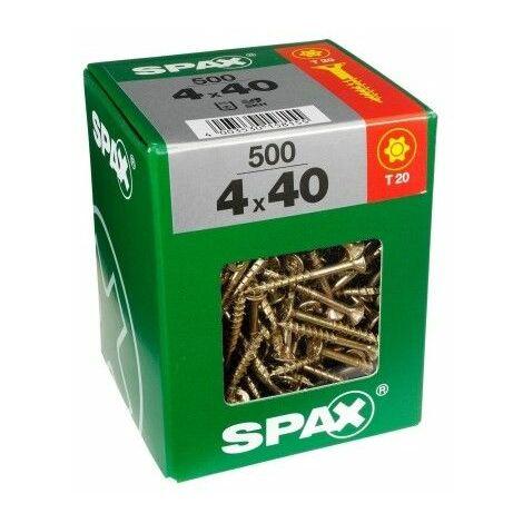 TORNILLO R/MAD. 06X0120MM BICROMAT. SPAX 75 PZ