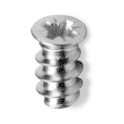 Tornillos euro cabeza plana - talla 13mm