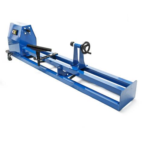 Torno madera eléctrico 400W Banco torneado regulable Máquina carpintería Banco trabajo carpintero
