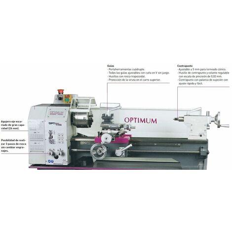 Torno OPTIMUM TU 2506 230 V