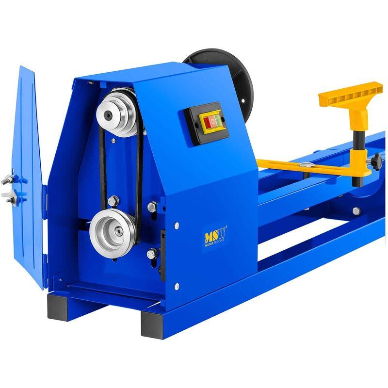 Torno Para Madera Banco De Torneado Carpintería Máquina Profesional 400W 1010Mm