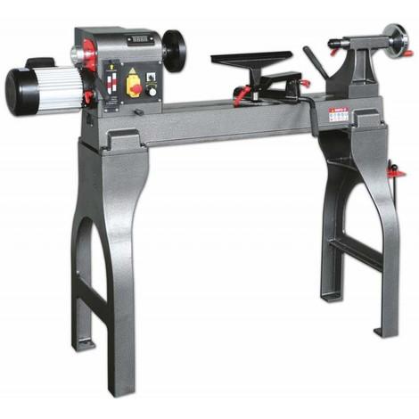 Torno para madera con variador de velocidad MC 1624 VS Lombarte