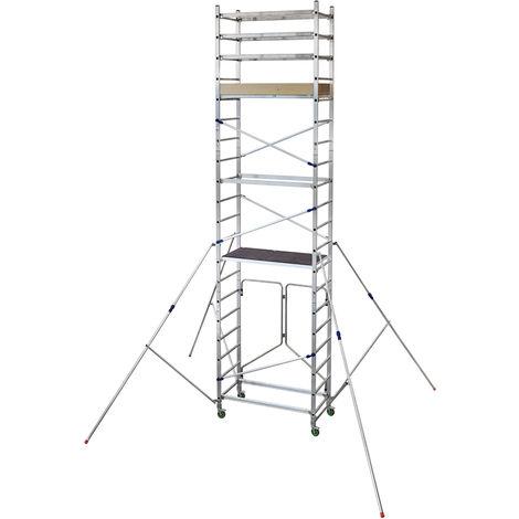 Torre móvil profesional de Aluminio A + B + C FAST ALTO