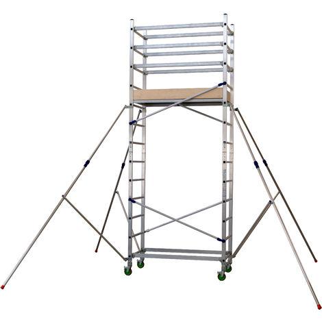 Torre móvil profesional de Aluminio A + B FAST ALTO