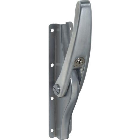 Tortreibriegel PLANO 13mm Schlaufenanzahl 3 LM hell verz.DENI