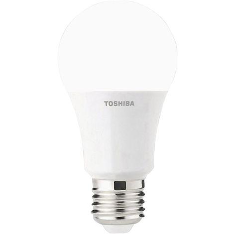 TOSHIBA 00101315012B A +, A608,5W LED INTENSITÉ VARIABLE, 806LM, 2700K, 80RA ND, PLASTIQUE, 60W, E27, BLANC, 60X 60X 112