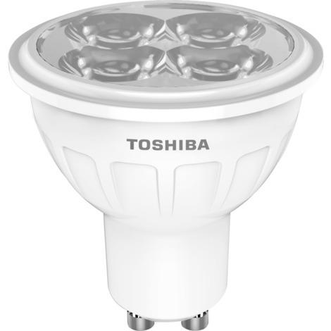 TOSHIBA - Bombilla dicroica GU10
