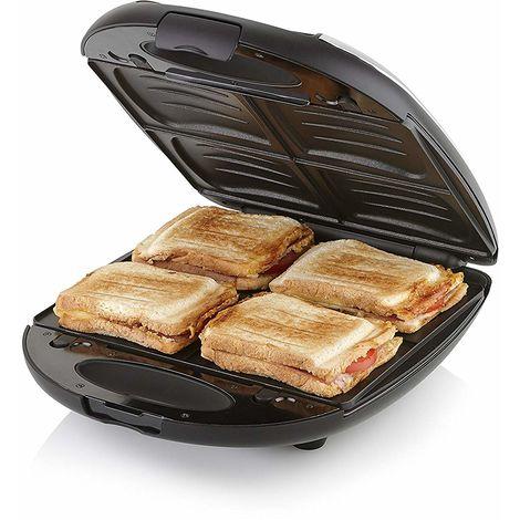 Tostiera con Piastre Rimovibili Sandwich Piastra per Toast 1200 Watt ...