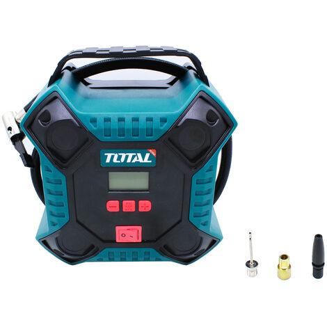 "main image of ""Total Tools Compresor aire enchufe mechero coche 12V 160PSI TTAC1601"""