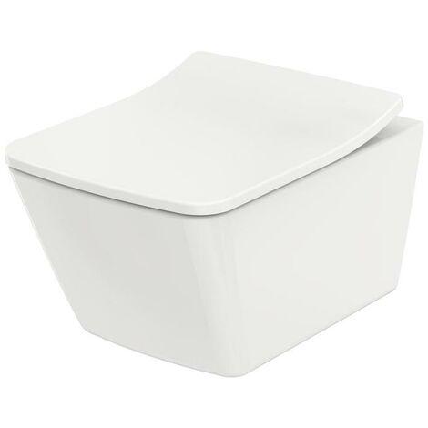 TOTO Wand-WC Wand-WC SP tief, randlos, Tornado-Flush weiß