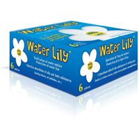 Toucan Water Lily Absorptions-Schwamm für Pool und Whirlpool, 6 Stück