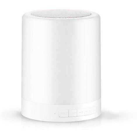 Touch Lamp Bluetooth Speaker mono, Blanco cálido, regulable