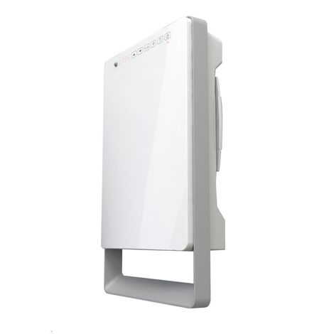TOUCH Programmable Intelligent Digital Bathroom Fan Heater Slim Line Space Saver- Lot 20 ErP Compliant