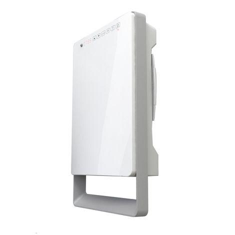 TOUCH Programmable Intelligent Digital Bathroom Fan Heater Slim Line Space Saver- Lot 20 ErP Compliant