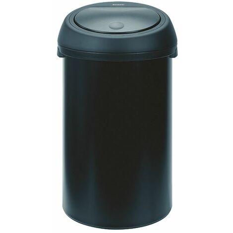 Touch Top Black Waste Bin 60 Ltr 374038 - SBY20242