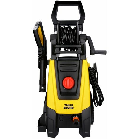 Tough Master Electric High-Power Pressure Washer 160Bar 2000W With Accessories
