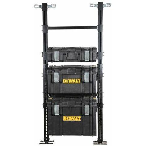 "main image of ""DeWalt DWST1-81045 Tall Toughsystem Mobile Van Storage Racking System - 50kg"""
