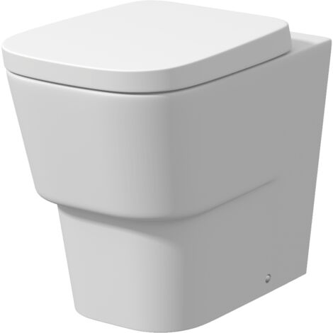 Toulon Back To Wall Toilet & Soft Close Seat