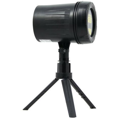 TOULUM - Projecteur laser LED Vert & Rouge avec télécommande - 9 modes d'éclairages - 3 modes de fixation - TLAFPDY01