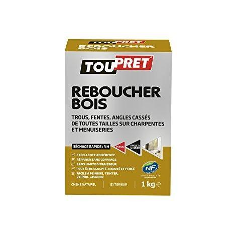 TOUPRET 445020 REBOUCHER BOIS POUDRE 1 KG