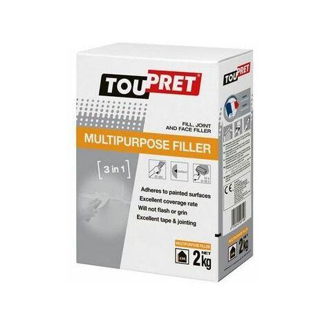 Toupret EC302GB Multipurpose Filler 2kg