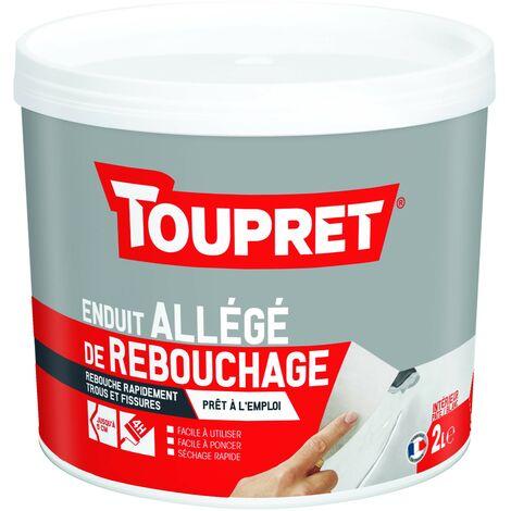Toupret Enduit allégé de rebouchage pot de 2 L