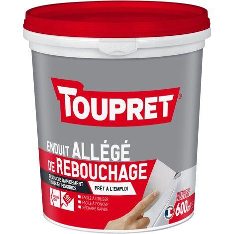 Toupret Enduit allégé de rebouchage pot de 600 ml