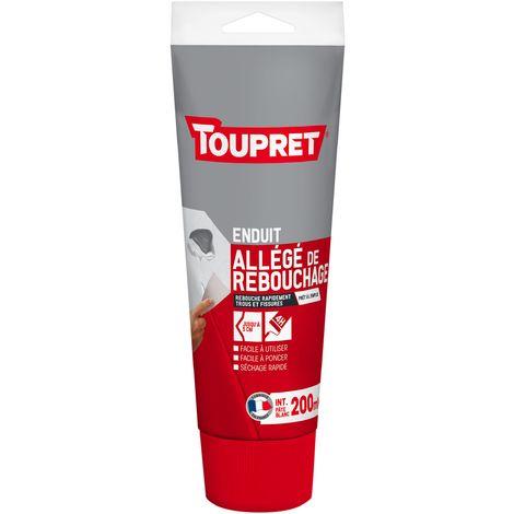 Toupret Enduit allégé de rebouchage tube 200 ml