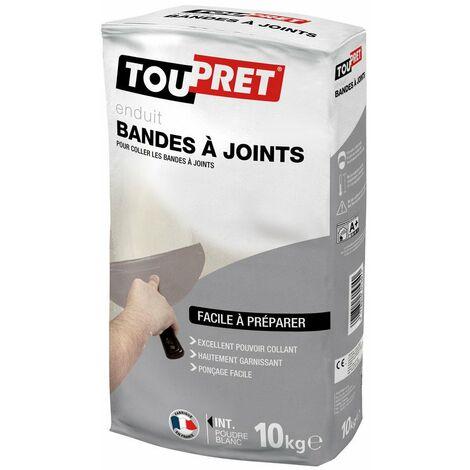Toupret enduit bande à joint poudre 10 kg