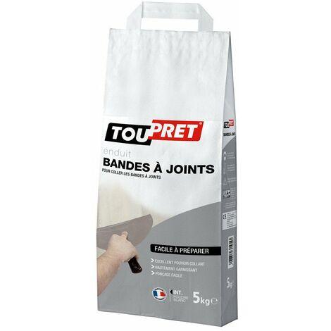 Toupret enduit bande à joint poudre 5 kg