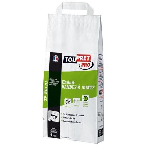 TOUPRET Enduit bandes a joints en poudre 5 kg