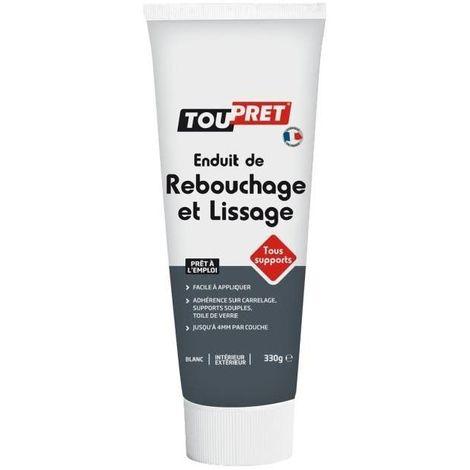 TOUPRET ENDUIT DE REBOUCHAGE ET LISSAGE TOUS SUPPORTS EN TUBE 330 G LSRLT0.33