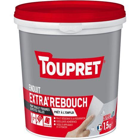 Toupret Enduit de rebouchage Extra'Rebouch en pâte 1,5 kg
