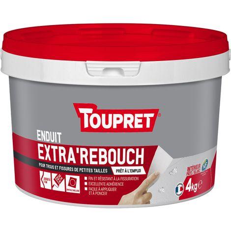 Toupret Enduit de rebouchage Extra'Rebouch en pâte 4 kg