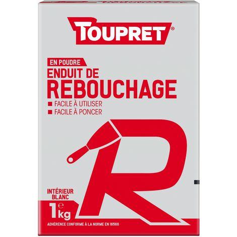 Toupret Enduit de rebouchage R poudre 1 kg