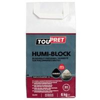 TOUPRET - Enduit en poudre Humiblock - 6 Kg